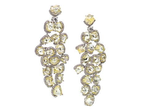 Champagne Bubbles Drop Earrings - CEW5000PDW8