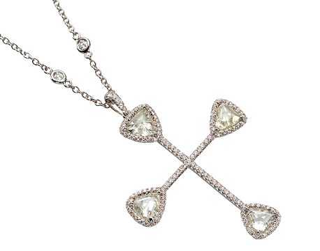 Light of the Cross Exclusive Orielle Pendant Necklace ONW1043PDW8