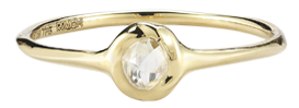 Aria Yellow Gold Ring
